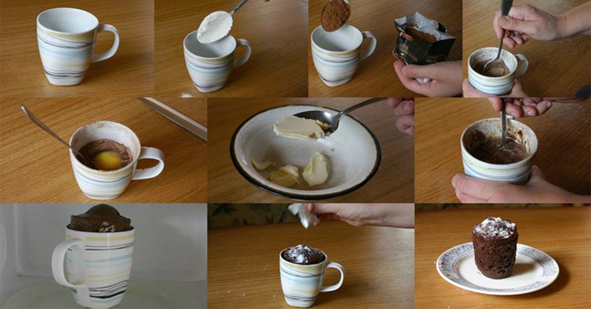 Как надо сделать кекс