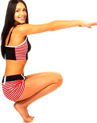 как похудеть икры на ногах девушке