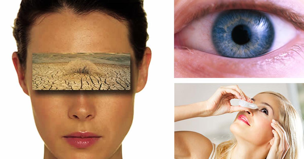 как избавиться от ощущения песка в глазах: