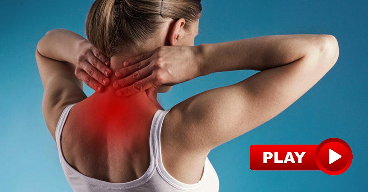 Как снять боль в шейном отделе позвоночника при грыже