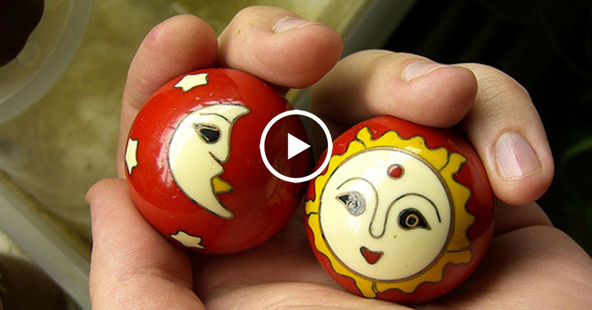 Китайские шары для рук своими руками