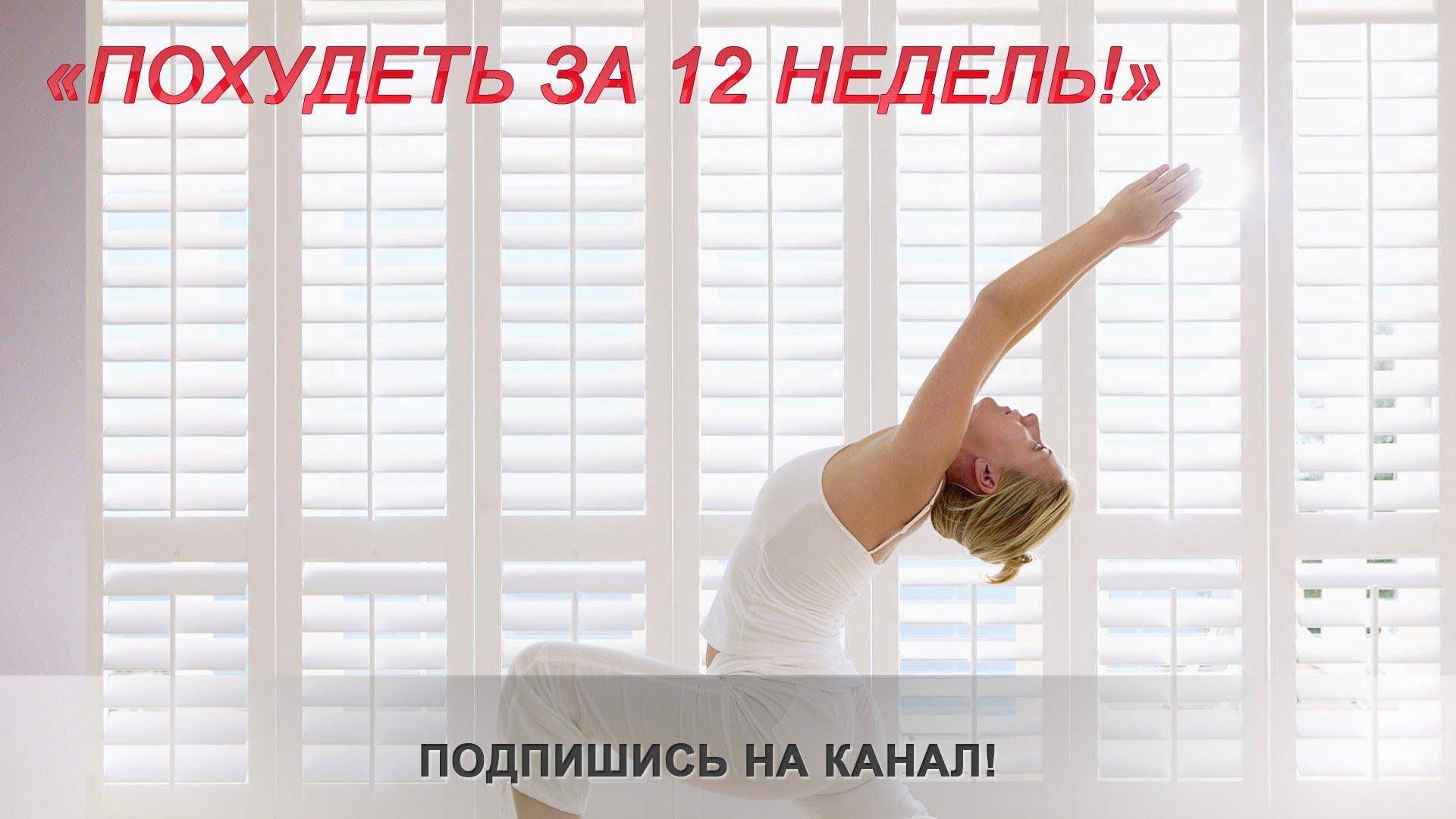 Упражнения на сжигание жира на животе. Программа 58