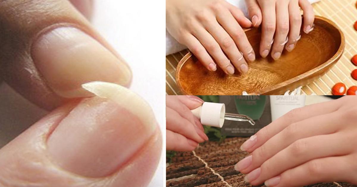 Как укрепить ногти в домашних условиях с солью и 322