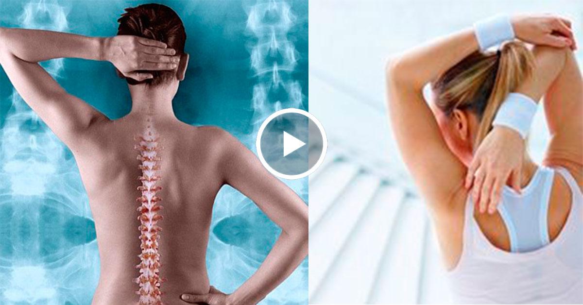 боль в пояснице видео упражнение