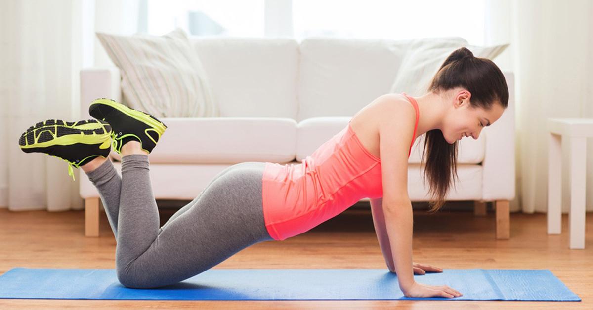 домашняя тренировка для похудения видео