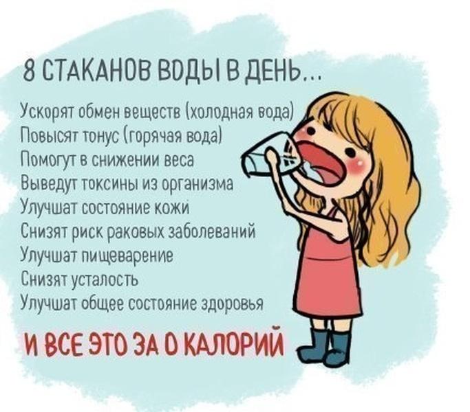 прикольные картинки как пить воду язык привлекал девушку