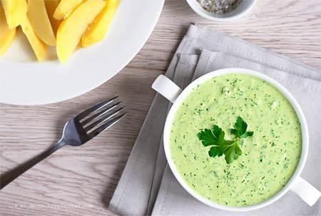Зеленый соус рецепт фото