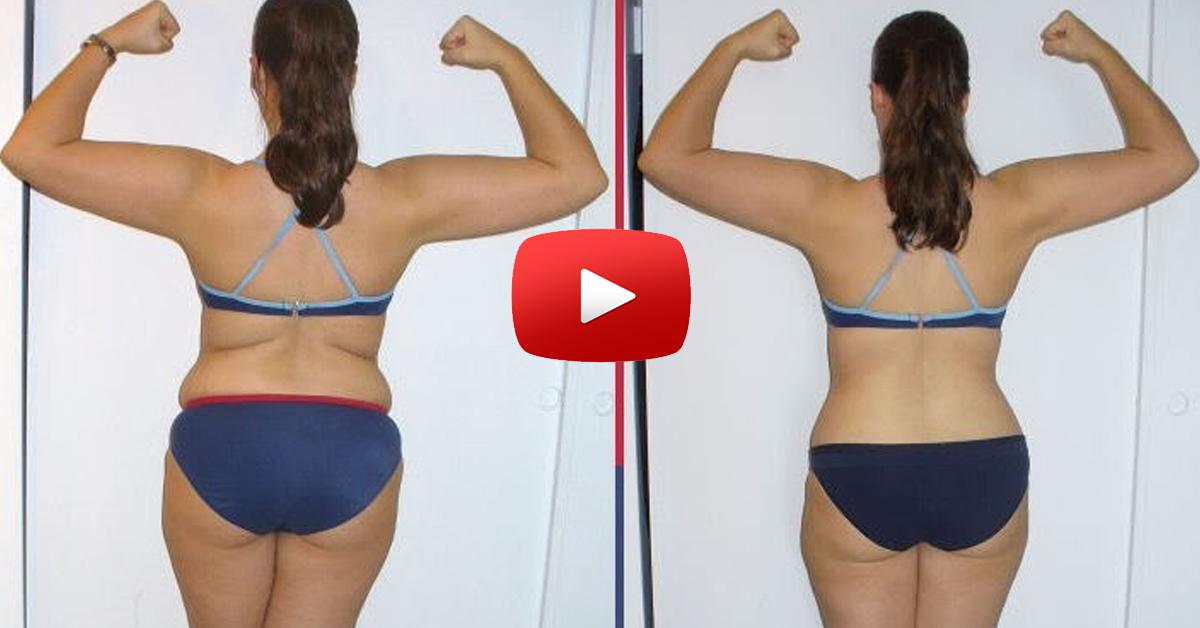 как убрать жир на спине и руках