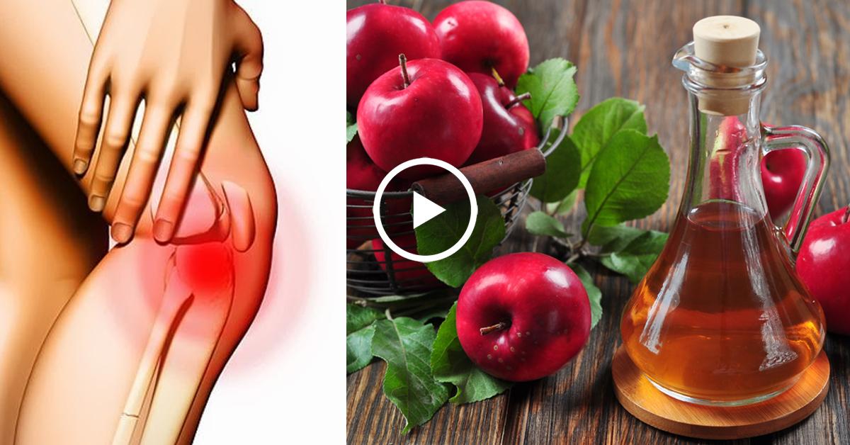 Яблочный уксус от боли в суставах операция на коленном суставе связки в спб