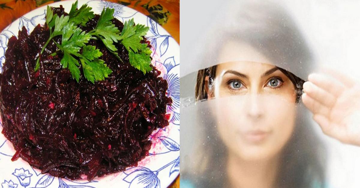 Картинки по запросу Очень полезный салат из свеклы! Восстановит зрение, очистит почки и кишечник