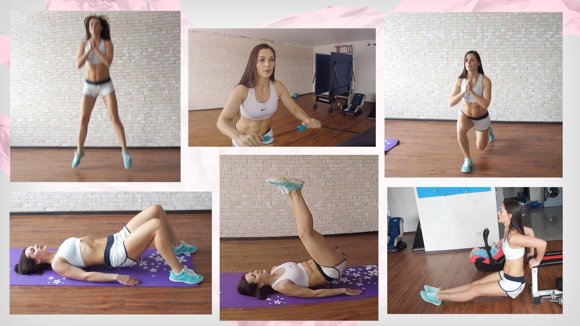 Комплекс упражнений для интенсивного похудения видео