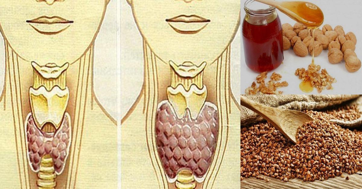 щитовидная железа лечение рецепт гречка мед орехи-хв9