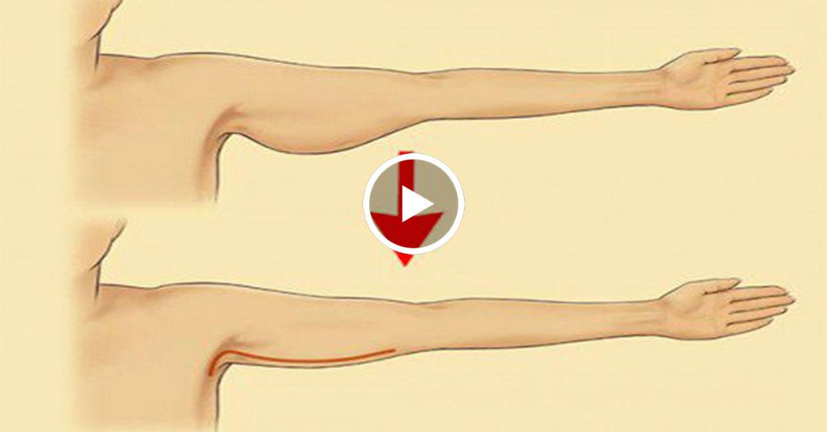 Как быстро похудеть в руках в домашних условиях 9