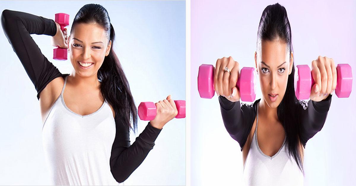 Быстрое Похудения Рук. Работаем с фигурой в домашних условиях: упражнения для похудения рук, плечей и спины для девушек