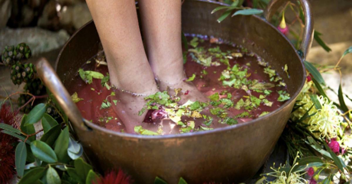Обезболивающие ванночки для ног